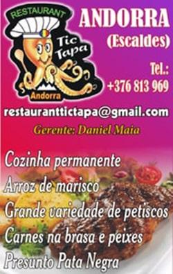 Restaurante TicTapa - Andorra